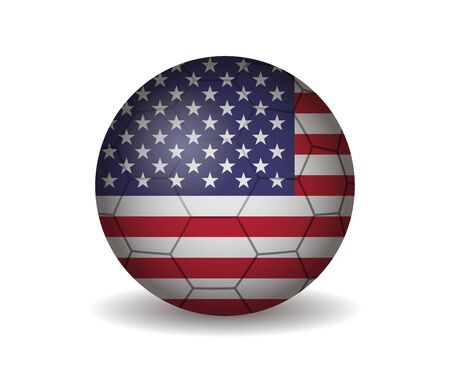 the united states: united states soccer ball