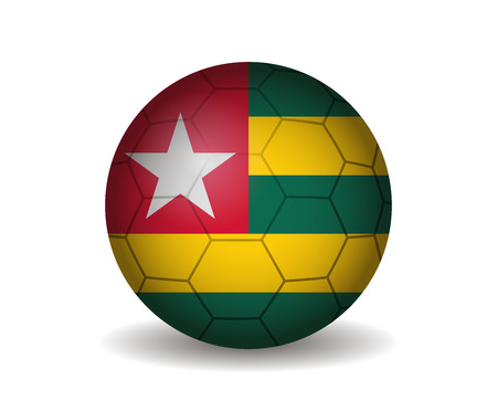 league of nations: togo soccer ball