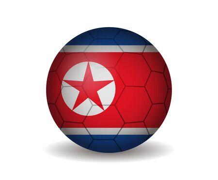 kickball: north korea soccer ball