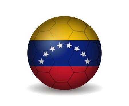 league of nations: venezuela soccer ball