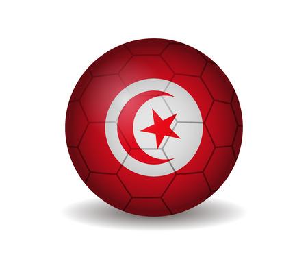 league of nations: tunisia soccer ball