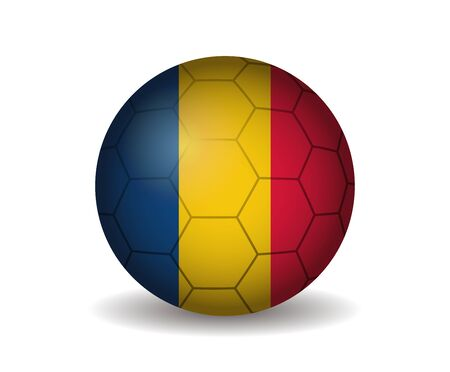 romania soccer ball