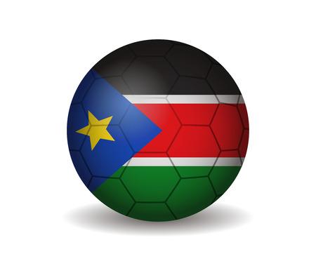 south sudan soccer ball