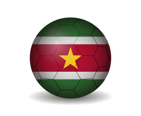 league of nations: suriname soccer ball