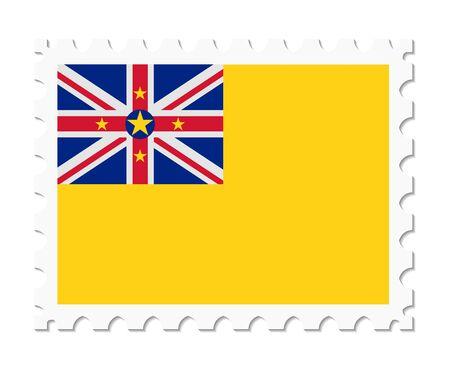 niue: stamp flag niue