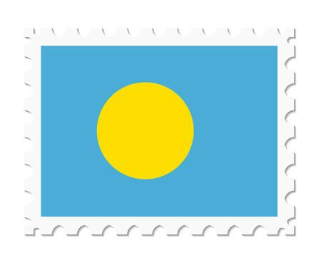 palau: stamp flag palau