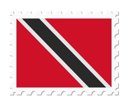 tobago: stamp flag trinidad and tobago