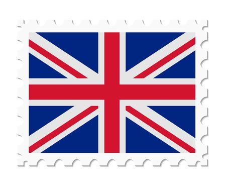stamp flag united kingdom
