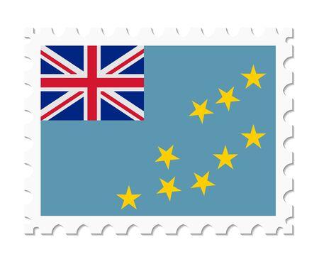 tuvalu: stamp flag tuvalu