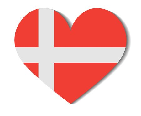 heart flag denmark