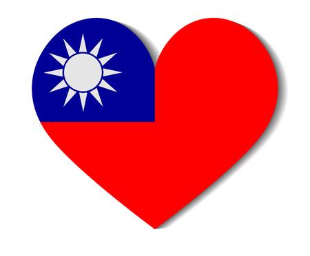 heart flag taiwan