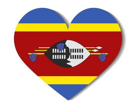 heart flag swaziland