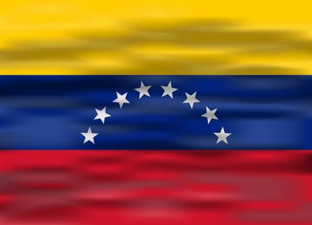 bandera de venezuela: bandera realista Venezuela Vectores