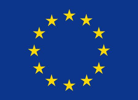 european union: flag of european union