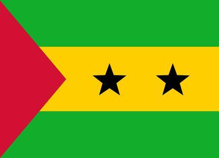 flag of sao tome