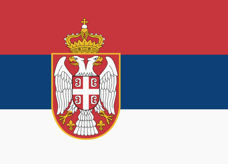territory: flag of serbia
