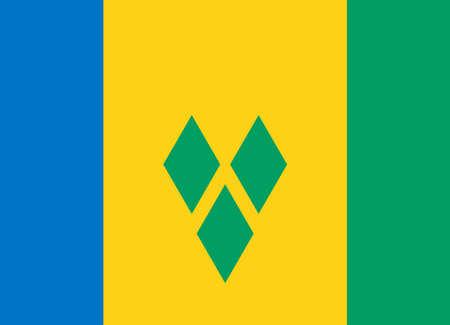 saint: flag of saint vincent