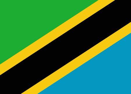 tanzania: flag of tanzania