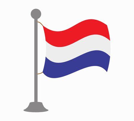 netherlands flag: netherlands flag mast