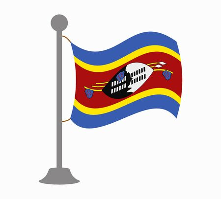 swaziland: swaziland flag mast