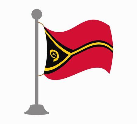 vanuatu: vanuatu flag mast