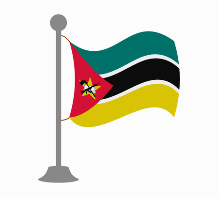 mozambique flag mast