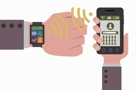 smart phone: smart phone and smart watch data