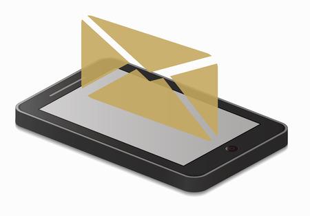 sending: smartphone sending message
