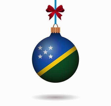 solomon: isolated christmas ball solomon islands