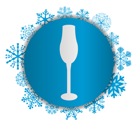 cup christmas icon
