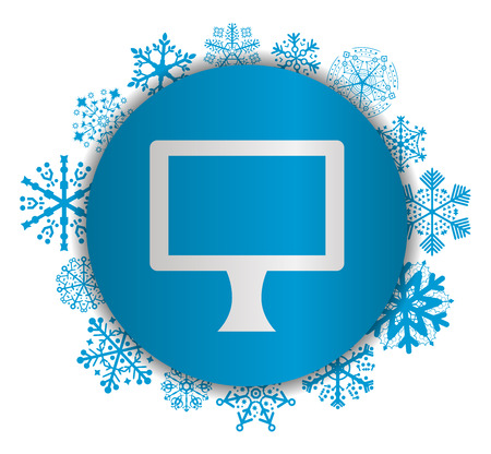 Display Christmas icon.