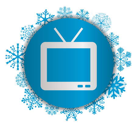tv christmas icon