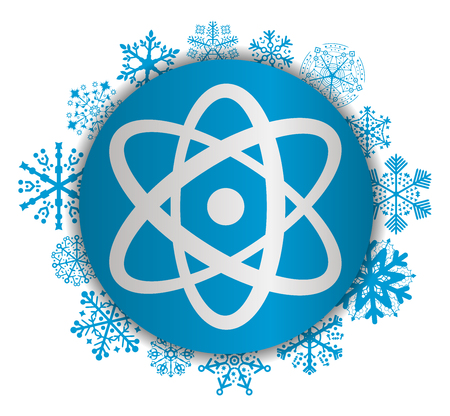 science christmas icon