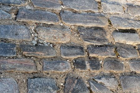 cobble: Cobble Stone Street Abstract Stock Photo