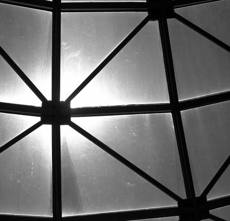 skylight black and white