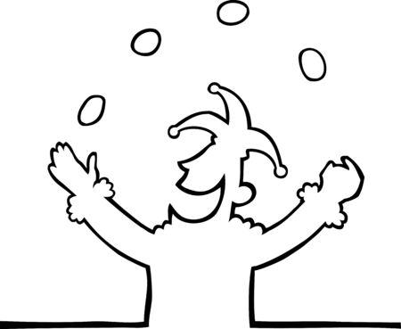 giullare: Giocoleria giullare