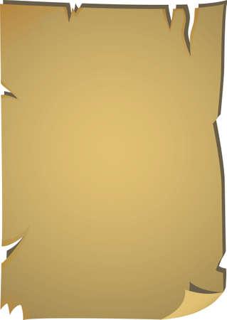 Blank pirate map