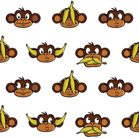 원숭이 머리 배경