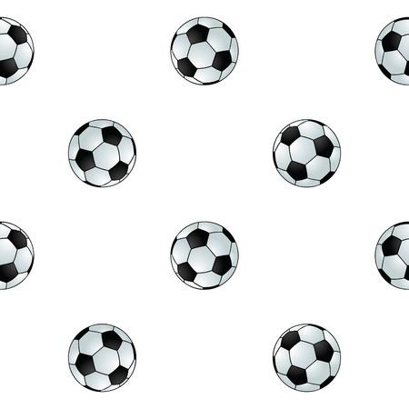 Seamless football background Stock Vector - 17156132