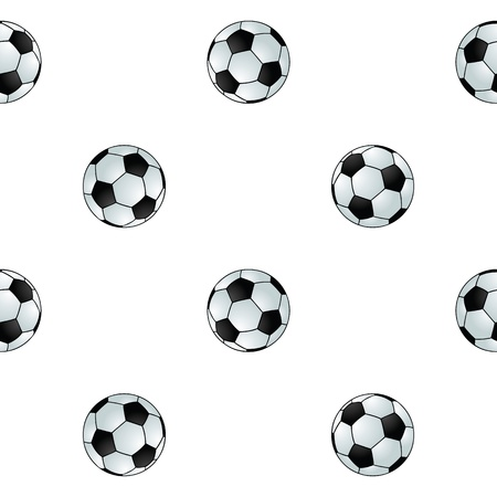Seamless football background Stock Vector - 17156132