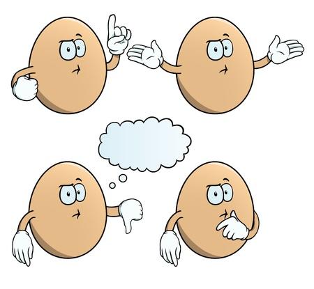 suspicion: Thinking egg set