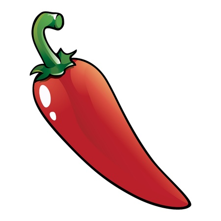 red jalapeno: Red hot chili pepper