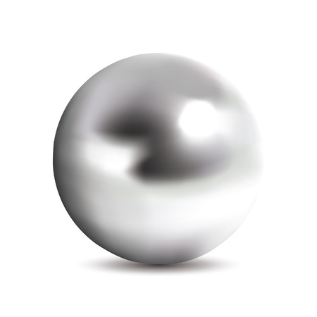 bullets: Photorealistic chrome ball