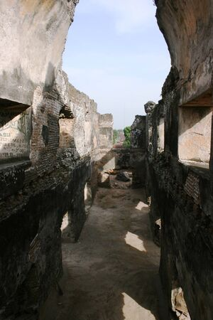 relics: Tamansari  watercastle one of the sites relics of ancient kingdom of Mataram Yogyakarta, became the nation