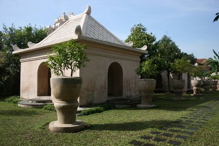 Tamansari  watercastle one of the sites relics of ancient kingdom of Mataram Yogyakarta, became the nations cultural heritage Indonesia