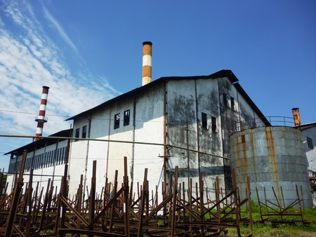 one of sugar mill in the region of Central Java, Indonesia