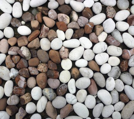 the stones are arranged neatly Suitable for background Stock Photo - 13322263