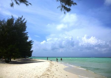 gleyang coastal scenery on the island of Java Karimun photo