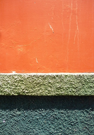 texture of the walls with bright colors for background purpose photo