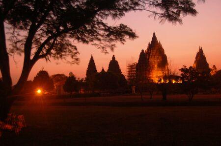Prambanan temple terletak di Yogyakarta on Java island, Indonesia Stock Photo - 17049675